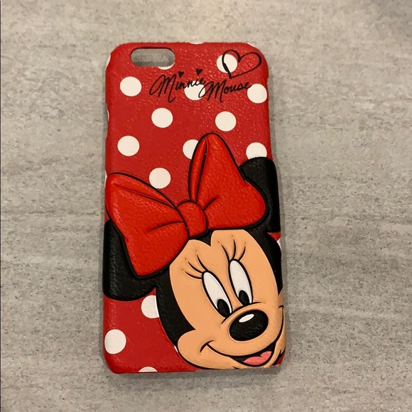 🌼2 for $10🌼Disney Minnie Mouse iPhone 6/6s Case!